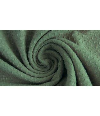 Cotton Jacquard Dark Old Green
