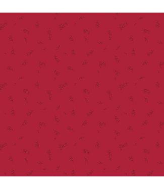 AGF: The Flower Society Coupon katoen Dainty Fleuriste Ruby