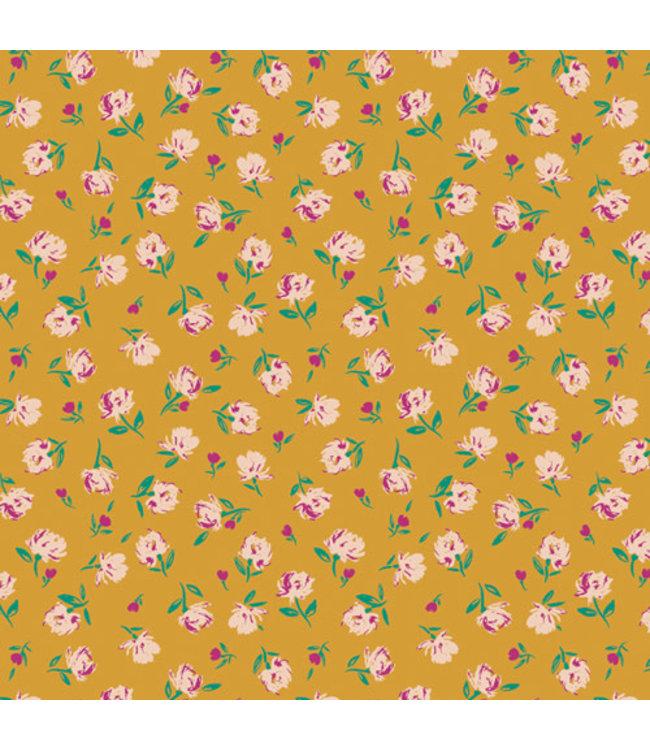 AGF: The Flower Society Coupon katoen Gentle Rosebuds Solar