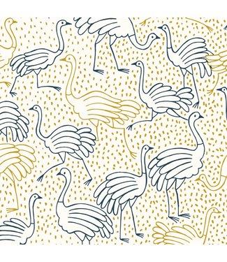 Katia Fabrics Canvas Gold Ostrich