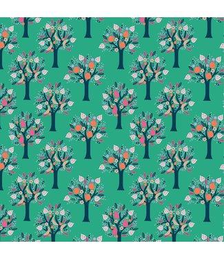 Katia Fabrics Katoen Tulum Trees