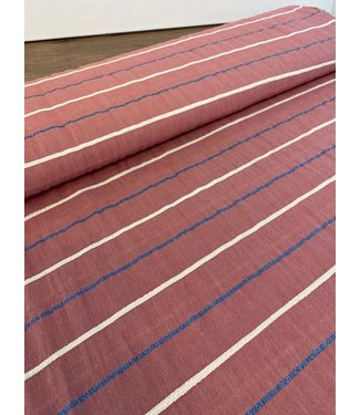 A La Ville Cotton Lurex Stripe