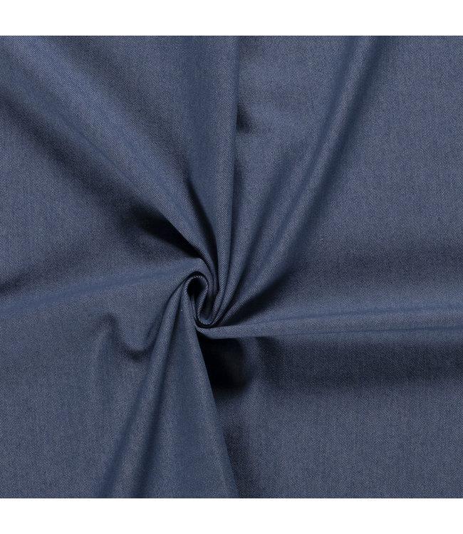 Denim Twill Washed Blue