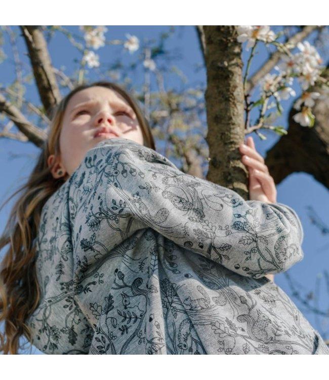 Katia Fabrics Sweat Melange Squirrel