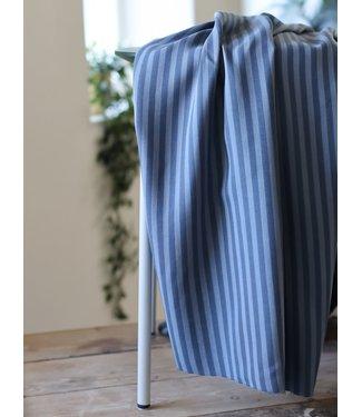 Meet Milk Two-tone Stripe Twill Dusty Blue
