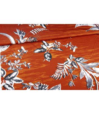 Signature Traveler Flower Rust/Orange
