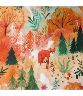 Katia Fabrics Katoen Autumn Forest