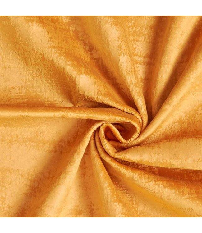 B&B Fabrics Fluweel Marble Oker