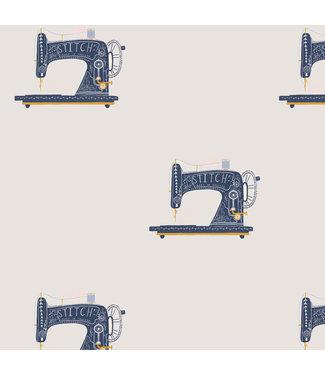 Katia Fabrics Canvas Gold Sewing Machine