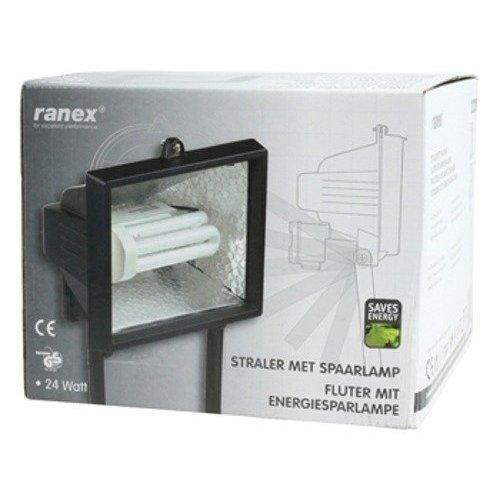 Ranex Ranex breedstraler/buitenlamp met spaarlamp