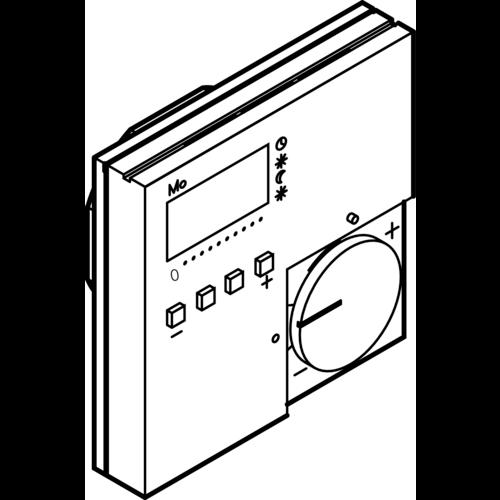 Viega Viega Fonterra klokthermostaat 230v - geschikt voor vloerverwarming