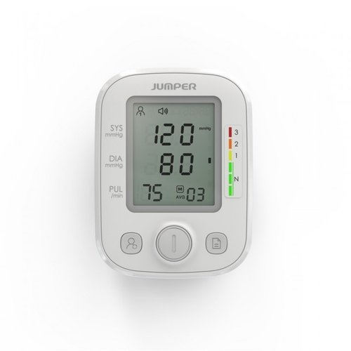 Jumper Jumper bloeddrukmeter HA200 bovenarm - gemiddelde van laatste 3 metingen - Onregelmatige hartslag-detectie