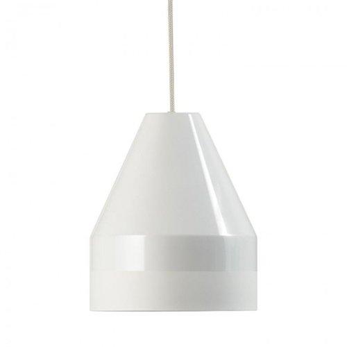 Dyberg Dyberg Larsen Crayon hanglamp wit Ø 18 cm