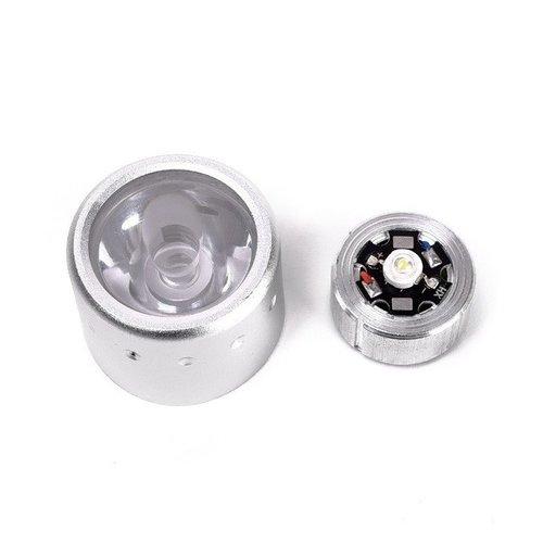 Outletshoponline.nl Duiklamp LED 3W 180 lumen wit licht - diepte 20 meter - lichtgewicht - met draaiknop aan/uit - incl. 4 KODAK AA batterijen