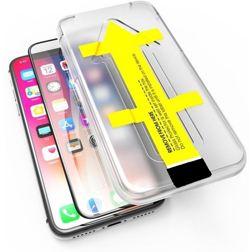 Outletshoponline.nl iPhone 11 Pro , X, XS screenprotector met Easy applicator