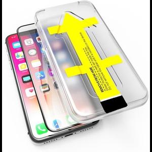 Outletshoponline.nl 11/XR iPhone Screenprotector met Easy applicator