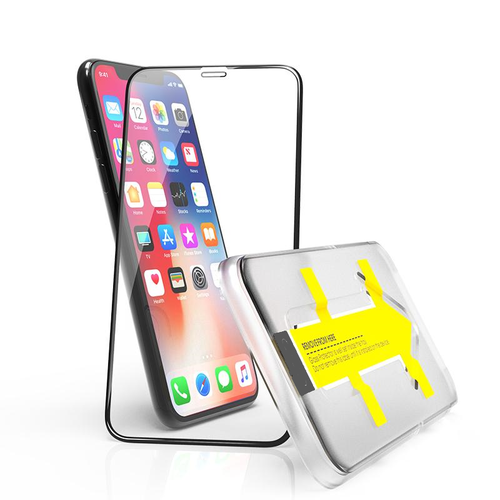 Outletshoponline.nl Screenprotector iPhone 11 / XR met Easy applicator