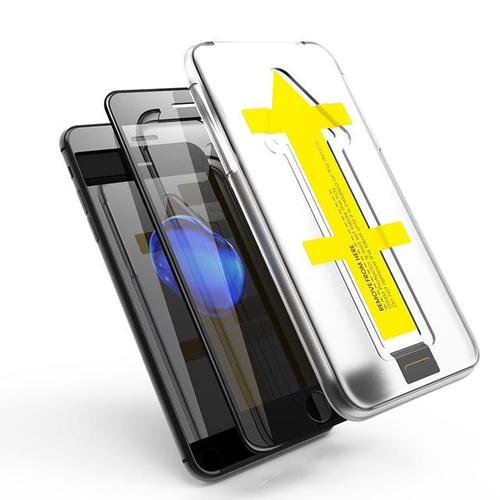Outletshoponline.nl SE20/8/7 iPhone screenprotector met Easy applicator