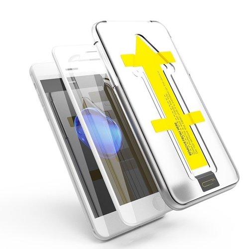Outletshoponline.nl SE20/8/7  Wit iPhone screenprotector met Easy applicator