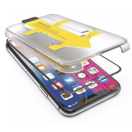 Outletshoponline.nl iPhone 11 Pro  Max / XS Max privacy screenprotector met Easy applicator