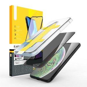 Outletshoponline.nl iPhone 11 /XR privacy screenprotector met Easy applicator