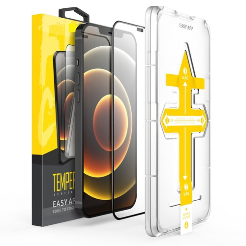 Outletshoponline.nl 12-12 Pro iPhone Screenprotector met Easy applicator