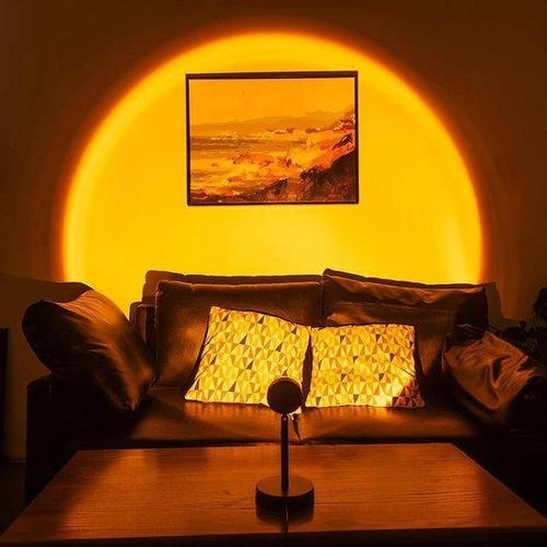 Outletshoponline.nl Sunset lamp - zonsondergang projectie lamp