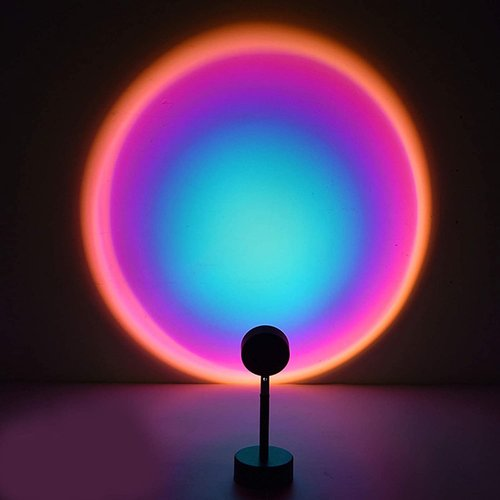Outletshoponline.nl Sunset Rainbow lamp - projectie tafellamp