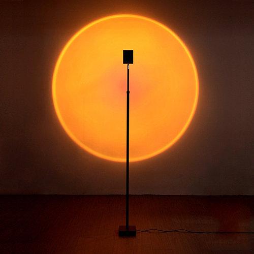 Outletshoponline.nl Sunset vloerlamp 160 cm - zonsondergang projectielamp