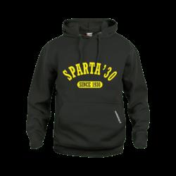 Sparta'30 Hoodie Zwart