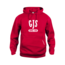 Clique GJS Hoodie Rood
