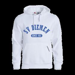 SV Diemen Hoodie Wit (5,- cash back voor club)
