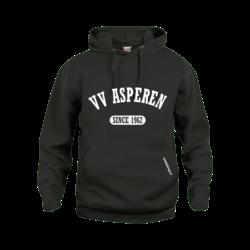 Asperen Hoodie Zwart