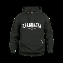 Zeeburgia Hoodie Zwart (5,- cash back voor club)