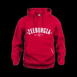 Zeeburgia Hoodie Rood (5,- cash back voor club)