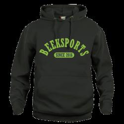 Beeksport Hoodie Zwart