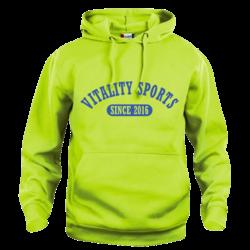 Vitality Sports Hoodie S.Groen (5,- cash back voor club)