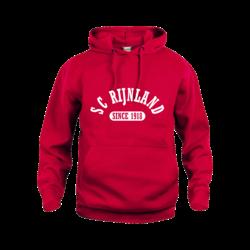 SC Rijnland Hoodie Rood (5,- cash back voor club)
