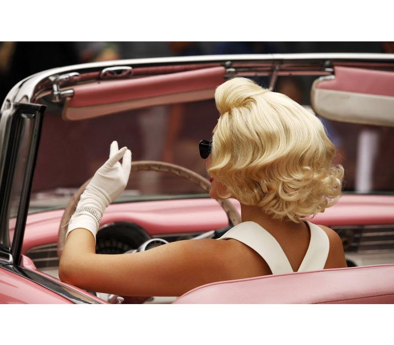 Monroe loves pink