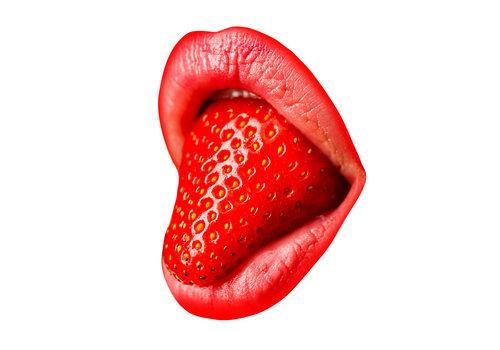 Dutch Art Explosion Strawberry mouth