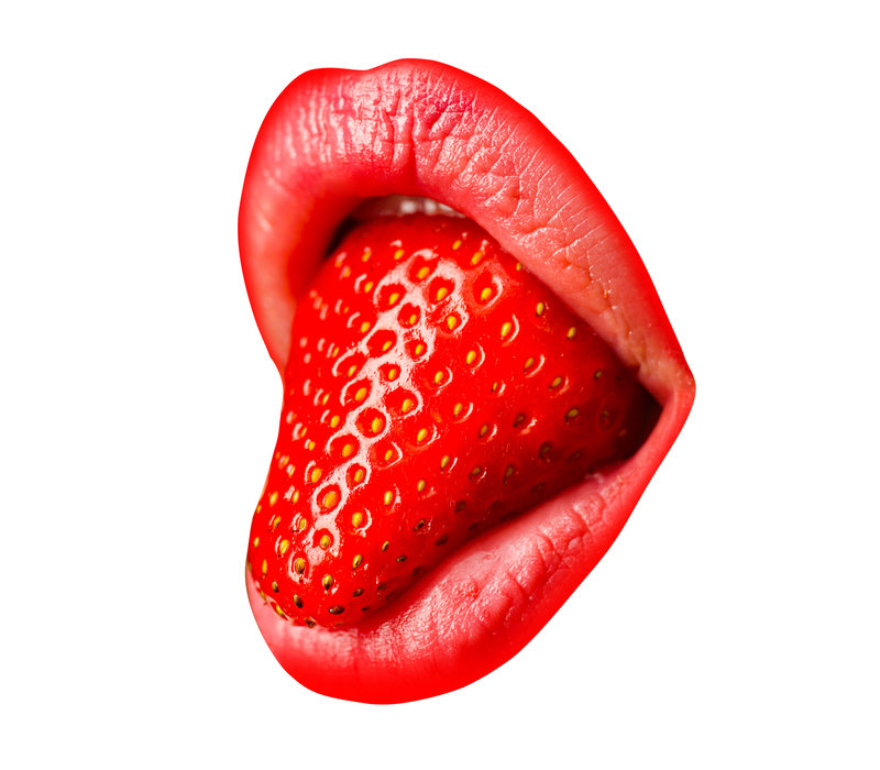 Strawberry mouth