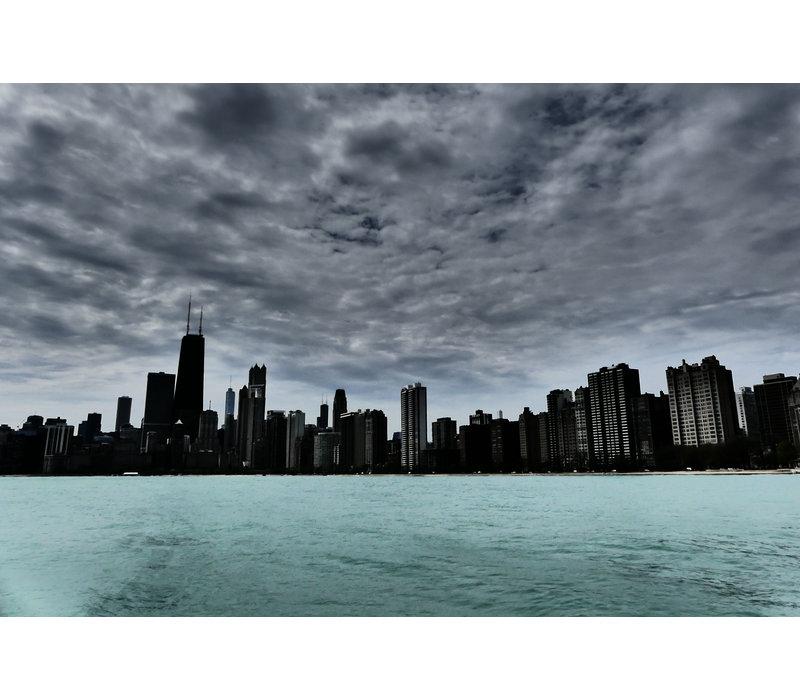 Cloudy skyline