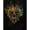 Dutch Art Explosion Golden skull