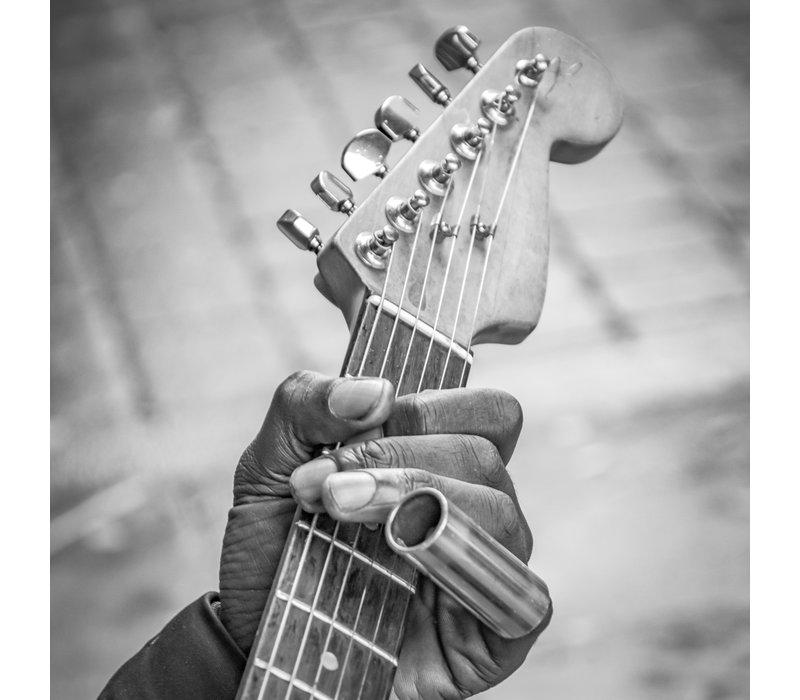 Always playin guitar