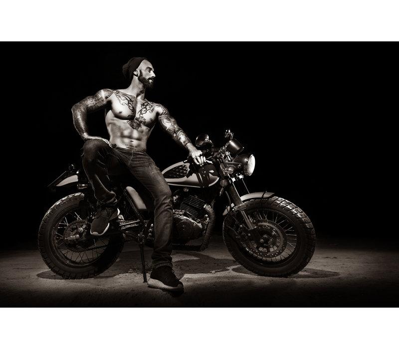 Stylish motorcycle