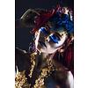 Dutch Art Explosion Colorful woman