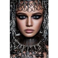 Metallic woman