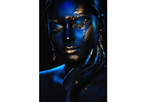 Dutch Art Explosion Blue x gold