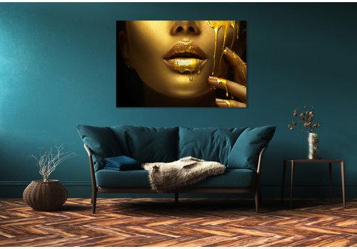 Dutch Art Explosion Gold face