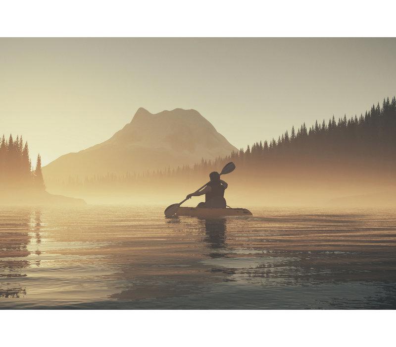 Lovely kayak view